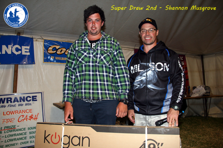 Super Draw 2nd Place